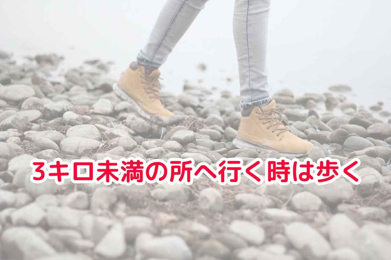 30代女性のダイエット|3キロ未満の所へ行く時は歩くダイエットで大成功